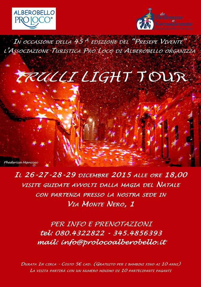 TRULLI LIGHT TOUR